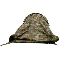 Bivouac tent one bow 1 man lightweight Dutch army