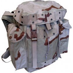 Day backpack army camouflage Dutch 3 color desert