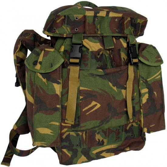 Day backpack Dutch army camouflage