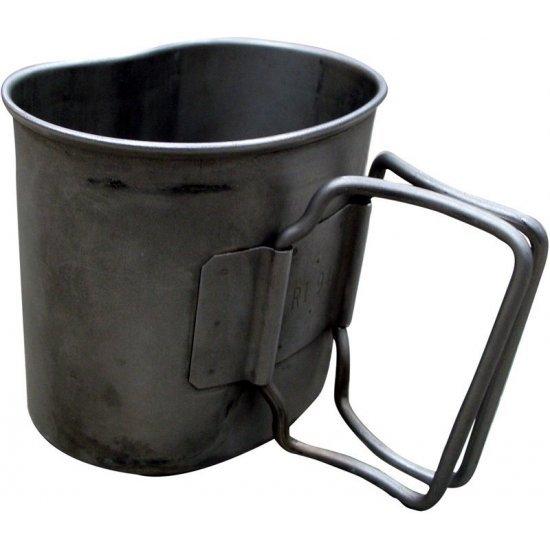 Mug stainless steel Dutch army