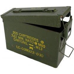 Ammunition chest small Dutch army green