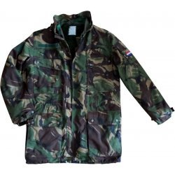 Parka camo Dutch Army camouflage
