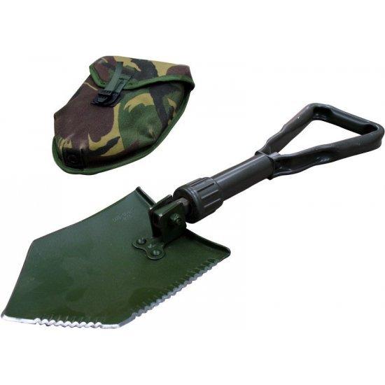Tri fold shovel Dutch army