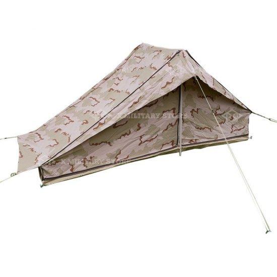Pup tent 1 man Dutch army camouflage Dutch 3 color desert
