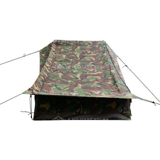 Pup tent 1 man Dutch army camouflage Dutch DPM woodland