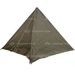 Pup tent 2 man Dutch army green