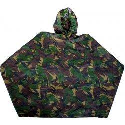 Rain poncho original Dutch army camouflage Woodland Dutch DPM