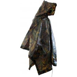 Rain poncho original Dutch army camouflage Woodland Dutch DPM