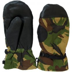 Mittens Dutch army camouflage