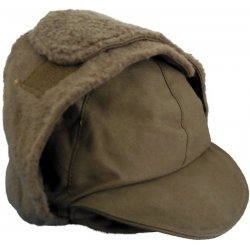 Winter cap Dutch army green